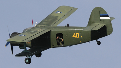 40 - PZL-Mielec An-2 - Estonia - Air Force