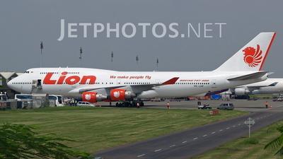 PK-LHF - Boeing 747-412 - Lion Air