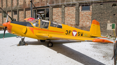3F-SW - Saab 91B Safir - Austria - Air Force