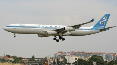 SX-DFC - Airbus A340-313X - Olympic Airlines