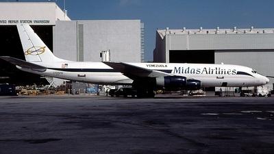 N505FB - Douglas DC-8-51(F) - Midas Airlines