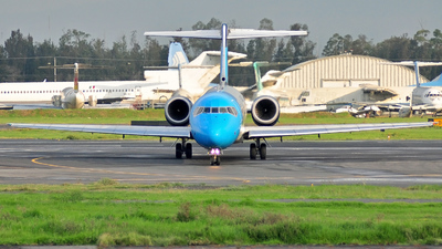 N917ME - Boeing 717-2BL - Mexicana Click