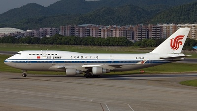 B-2443 - Boeing 747-4J6 - Air China