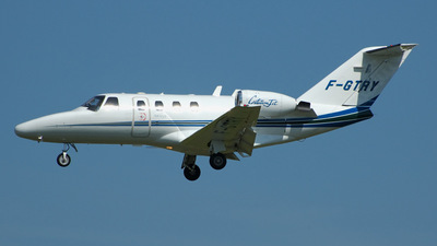 F-GTRY - Cessna 525 CitationJet 1 - Air Ailes