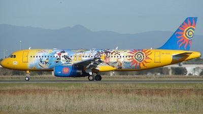 ZK-OJL - Airbus A320-232 - Freedom Air