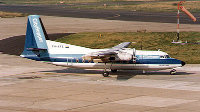 PH-KFE - Fokker F27-600 Friendship - NLM CityHopper