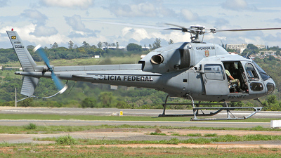 PR-HFC - Eurocopter AS 355N Ecureuil 2 - Brazil - Federal Police