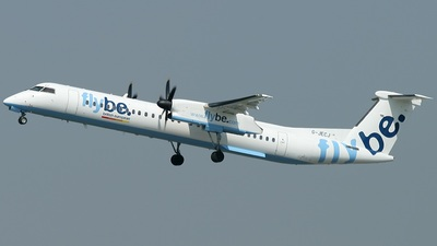 G-JECJ - Bombardier Dash 8-Q402 - Flybe