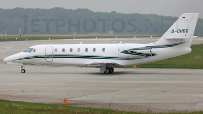 D-CHDC - Cessna 680 Citation Sovereign - Private