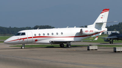 HB-JKG - Gulfstream G200 - Private