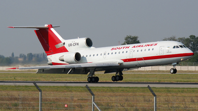 UR-CFH - Yakovlev Yak-42D - South Airlines