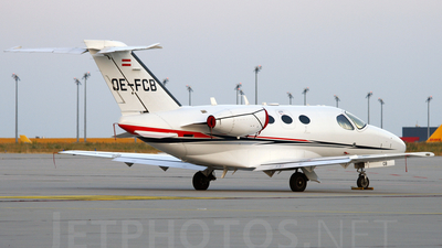 OE-FCB - Cessna 510 Citation Mustang - Private