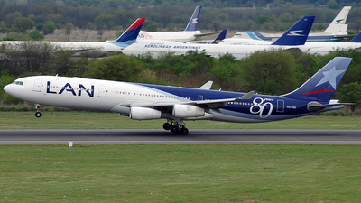 CC-CQC - Airbus A340-313X - LAN Airlines