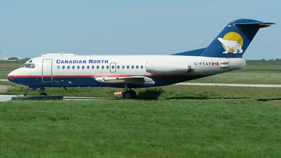 C-FTAY - Fokker F28-1000 Fellowship - Canadian North