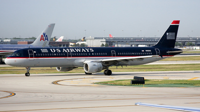 N163US - Airbus A321-211 - US Airways
