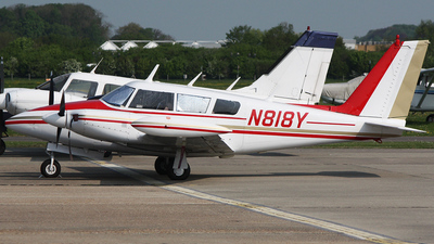 A picture of N818Y - Piper PA30 Twin Comanche - [301458] - © n94504