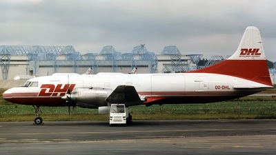 OO-DHL - Convair CV-580 - DHL (European Air Transport)