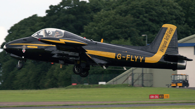 G-FLYY - British Aircraft Corporation BAC 167 Strikemaster Mk.80A - Private