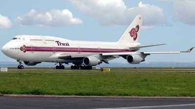 HS-TGG - Boeing 747-4D7 - Thai Airways International