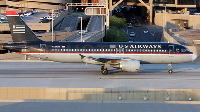 N121UW - Airbus A320-214 - US Airways