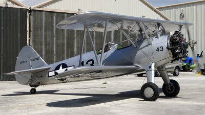 N43320 - Boeing E75 Stearman - Private