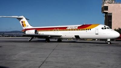 EC-CGN - McDonnell Douglas DC-9-32 - Iberia