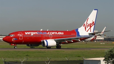 VH-VBZ - Boeing 737-7FE - Virgin Blue Airlines