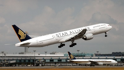 9V-SYE - Boeing 777-312 - Singapore Airlines