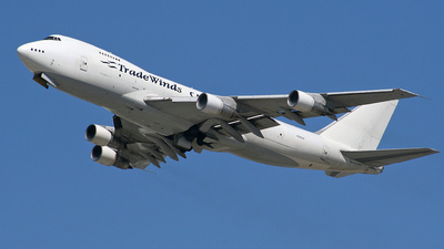 N526UP - Boeing 747-212B(SF) - TradeWinds Airlines