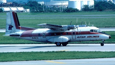 N487A - Nord N-262A - Altair Airlines
