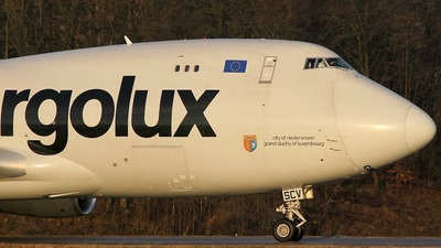 LX-SCV - Boeing 747-4R7F(SCD) - Cargolux Airlines International