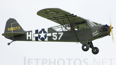 A picture of GRRSR - Piper J3C65 Cub - [12905] - © Oliver Holmes