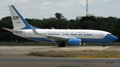 01-0041 - Boeing C-40B - United States - US Air Force (USAF)