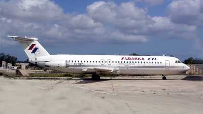 5N-BBP - British Aircraft Corporation BAC 1-11 Series 518FG - Albarka Air