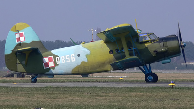 0856 - PZL-Mielec An-2T - Poland - Air Force