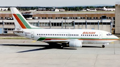 LZ-BOA - Boeing 737-53A - Balkan Bulgarian Airlines