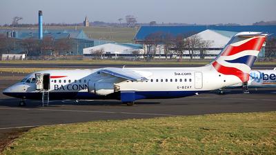 G-BZAY - British Aerospace Avro RJ100 - BA Connect