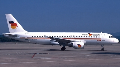 G-BXKD - Airbus A320-214 - Flying Colours Airlines