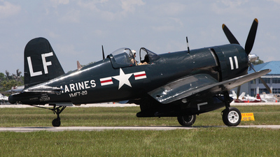 NX240CA - Chance Vought F4U-4 Corsair - Vintage Wings of Canada