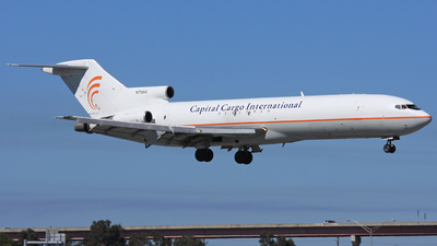 N713AA - Boeing 727-223(Adv)(F) - Capital Cargo International Airlines
