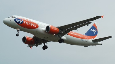 G-SUEW - Airbus A320-214 - MyTravel Airways