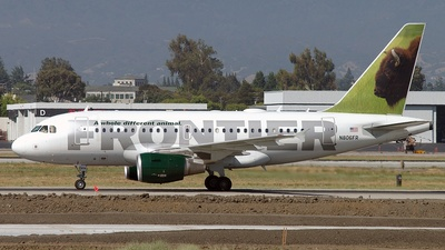 N806FR - Airbus A318-111 - Frontier Airlines