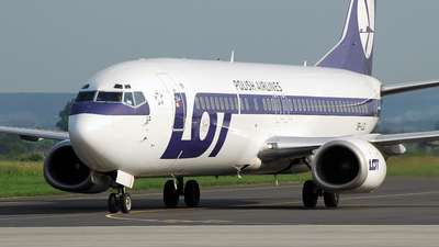 SP-LLD - Boeing 737-45D - LOT Polish Airlines