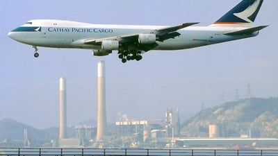 B-HVX - Boeing 747-267F(SCD) - Cathay Pacific Cargo