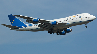 N361FC - Boeing 747-236B(SF) - Focus Air