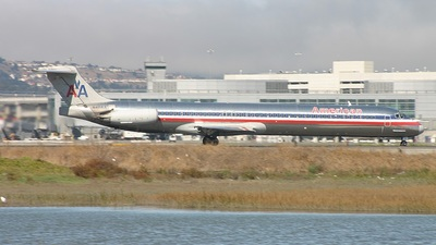 N411AA - McDonnell Douglas MD-82 - American Airlines
