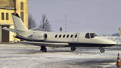 OO-SKP - Cessna S550 Citation SII - Sky-Service