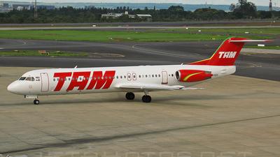 PT-MQK - Fokker 100 - TAM Linhas Aéreas