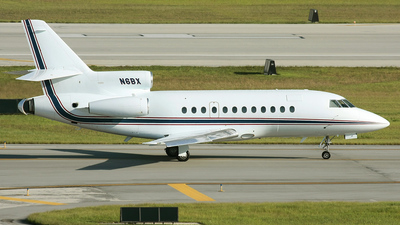 N6BX - Dassault Falcon 900B - Private
