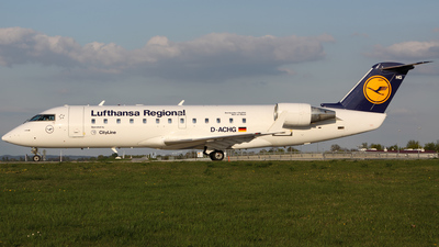 D-ACHG - Bombardier CRJ-200LR - Lufthansa Regional (CityLine)